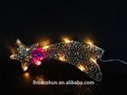 10*30.5cm outdoor christmas star lights, decorative christmas street lighting