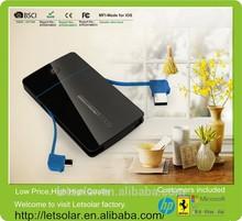Wholesale Dual USB port OEM universal charger 50000mah power bank