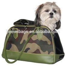 Camo Travel Pet Carrier Dog Bag