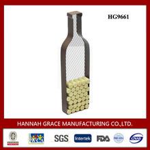 Decorative Wine Bottle Shape Cork Display Holder