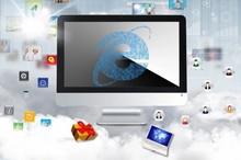 Best All in one PC 23.6 inch Intel Core i3-3210 4 GB RAM 500 GB win 7 Online sale desktop computer