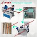 Vassoura fazendo máquina/madeira cabo de vassoura máquina