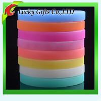 Eco-friendly cheap unicef silicone bracelet name rubber band bracelet