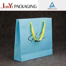 Custom UV paper bag recycled gift logo printed paperbags printing