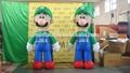 La publicidad personalizada y comercial inflable super maría/maría inflable de navidad/de dibujos animados de navidad
