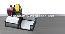 Good Quality Metal Multi-Fuction Pen Pot Stationery Brush Holder Cheap Pot Holder Office Use Desk Organiser Storage