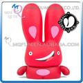 Mini Qute máscara de urso 10 cm orgulho Beibei coelho Kawaii animais de plástico figuras de ação crianças brinquedos dos desenhos animados decoração do carro da boneca modelo