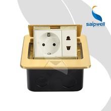 saipwell estándar europeo de alta calidad de receptáculo de suelo