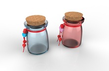 Mini Personalized Jars Love Couple Wedding