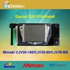 Printing machinery inkjet printer parts Original print head Ep son DX-5 for mimaki digital printing machine