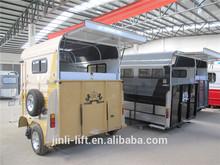 galvanized horse trailer for 2 horse standard box trailer