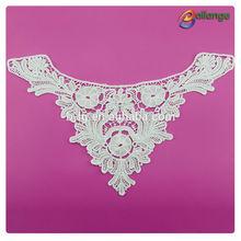 Bailange newest design white color cotton neck design of dress indian wholesale