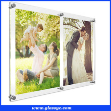 home decoration 4*6 inch innovative clear digital photo frame