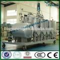 Pneumatique des déchets d'huile équipement de distillation/système de recyclage d'huile de pyrolyse des pneus à éliminer l'odeur et d'améliorer la couleur
