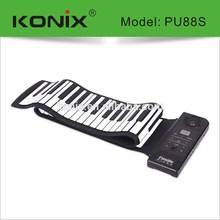 KONIX 49/61/88-Keys Electronic Piano Hand Roll Piano Keyboard MIDI Keyboard Digital Piano