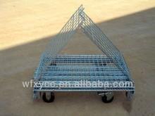 Industry galvanized wire mesh steel storage cage