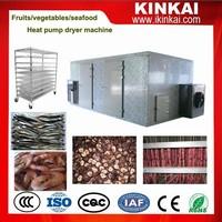 Heat pump dryer dehydrator for meat /fruits/vegetables