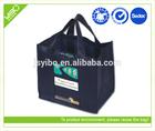 Recycle reusable foldable custom non woven grocery bag
