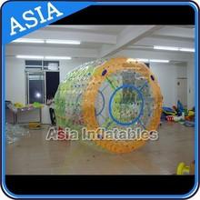 2014 Cheap outdoor water roller games,water zorb ball
