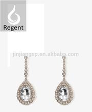 2015 new spring jewelry wholesale fashion degisn tear earring