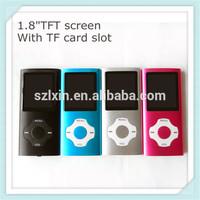 8GB Ultra Slim Mp3 Mp4 MP5 with LCD Screen FM Radio Camera Video Movie Player mp4