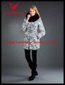 Manter aquecido diamante acolchoado roupas de inverno