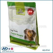 pet treat packaging zipper pouch bag