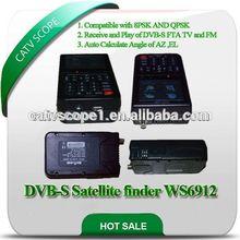 HD digital DVB-S satellite meter /TFT LCD Satellite Finder meter/ digital satellite finder CSP-WS6912