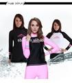Atacado 2015 uv submersível rashguard surf terno, Mulheres swimwear mergulho roupa de mergulho