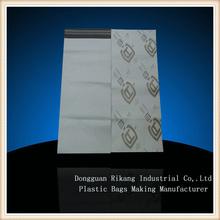 Biodegradable plastic document pouches for logistics service
