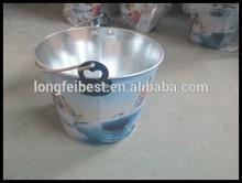 Popular Design Beer Tin Bucket 5L Metal Bucket Without Lid