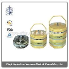 hopestar 3 layers key lock food storage