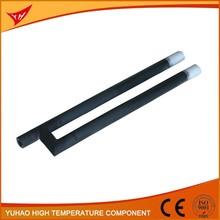 China manufacturer supply straight G(gun) type silicon carbide tube