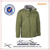 Sunnytex outwear apparel OEM custom outdoor windproof hunting jackets