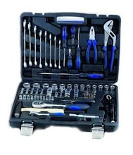 "Auto repairing tool diagnostic tool for all cars 1/2"" &1/4""DR 72PCS tool kits Chrome-Vanadium Steel"
