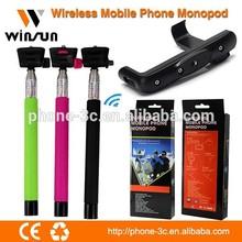 wholesale cell phone accessories girls am photos selfiestick, bluetooth selfie rod, monopod bluetooth for iphone 6