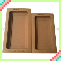 Customize kraft packaging box for phone case