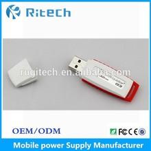 OEM plastic usb flash drive material promotion hp usb disk 1GB 2GB 4GB 8GB