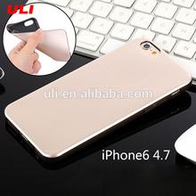 Alibaba Express Luxury Brushed Metal TPU case for iPhone 6 , 6plus,tpu mobile case for iphone 6 plus case