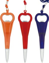 Multi-fonction gift Beer bottle opener ball pen BP-3560
