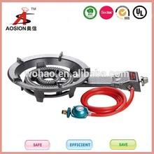 low pressure cast iron commercial portable gas stove burner