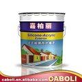 caboli casa de pintura de la pared exterior acabados