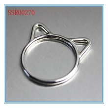 High quality fashion design hot sale wholesale cat ring