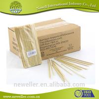2014 Nature excellent quality agarbatti bamboo sticks good quality practical bamboo stick for barbecue