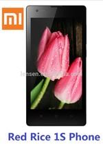 xiaomi Red Rice 1S phone Quad-Core 1.6GHz CPU 1GB RAM+8GB ROM 4.7 inch IPS screen dual sim card 8.0MP camera with Flash