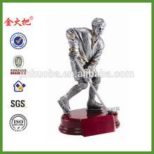 Resin Trophy Action Figure Hockey