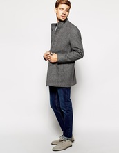China wholesale men Funnel Neck Selected Woolen Coat