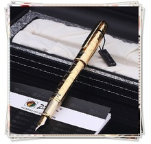 XJ-P918 Dream Gold Picasso gold plating fountain pen, Christmas gift pen