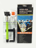 New Christmas Gift Z07-5 Extendable Handheld Rechargeable Wireless Bluetooth Selfie Stick Monopod