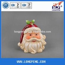 Decorative Dolomite Christmas Santa Candy Jar